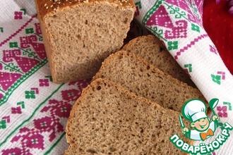 Хлеб ржаной на рисовом отваре