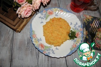 """Картофель """"Оранжевое пюре"""""""