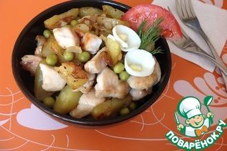 Жаркое из курицы по-боливийски