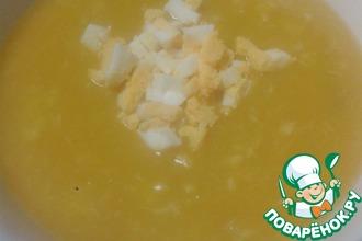 Крем-суп с рыбой