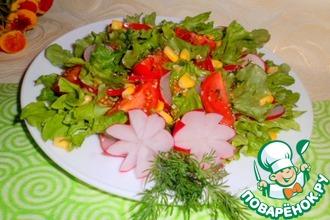 Пикантный соус-заправка к салатам