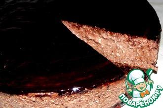 Нежный чизкейк с топленым шоколадом