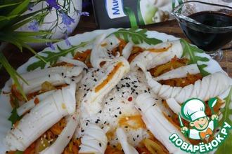 Рис с кальмарами стир-фрай