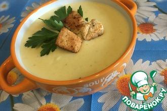 Французский сырный суп-пюре