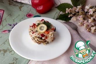Рис со специями и овощами