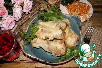 Курица в сливочно-луковом соусе