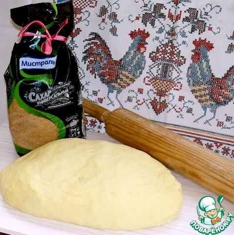 В рецепте использован коричневый тростниковый сахар Мистраль.   Тесто получается с приятным вкусом, имеет красивый оттенок.