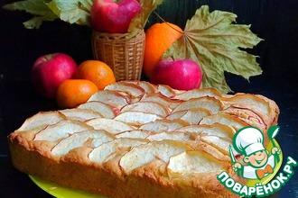"""Яблочный пирог с корицей """"Осень"""""""