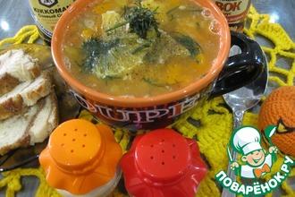 Густой чечевичный суп с апельсинами