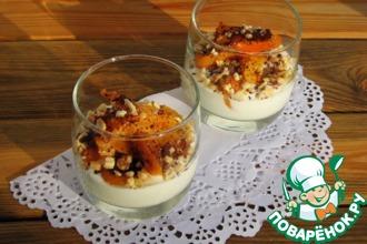 Запеченная хурма с медовым йогуртом