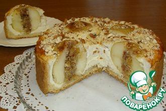 """Пирог """"Заливные яблоки"""" с целыми яблоками"""