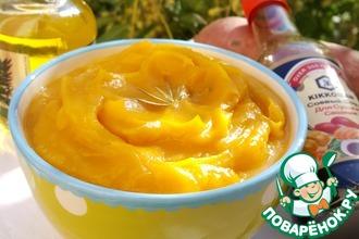 Суп-пюре из батата с розмарином