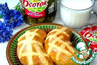 Закусочные пирожки с пикантной начинкой