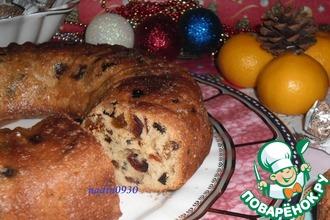 """Кекс """"Рождественский"""" с инжиром"""