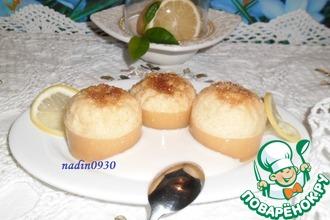 Десерт лимонный