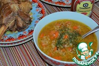 Суп овощной с рисом