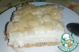 """Молочный десерт """"Карамельный рафаэлло"""""""