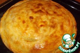 """Пирог с картофелем и мясом """"Цкан"""""""
