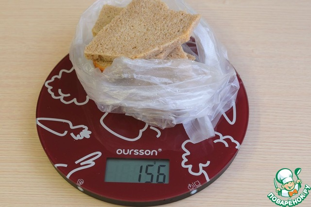 Для фарша нам потребуется хлеб. Хлеб придаст котлетам вкус, мягкость и пышность.