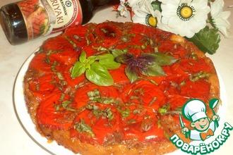 Луково-томатный пирог