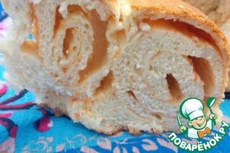 Хлеб с аджикой