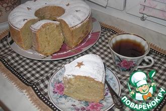 """Творожно-яблочный кекс """"Секретная миссия"""""""