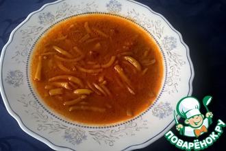 """Суп из молодой стручковой фасоли """"Махуны"""""""