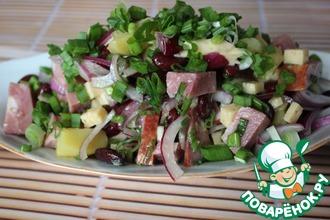 Салат с красной фасолью из Аппенцелля