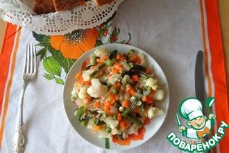 Рагу овощное из заморозки