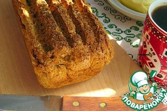 Хлеб с гречневыми и овсяными хлопьями