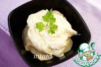 Сливочный соус для салатов