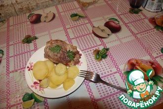 """Упрощенный картофель """"Анна"""" в фольге"""