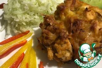 Курица с фасолью «Белковый удар»