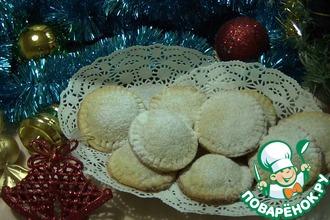 Печенье с апельсиново-малиновой начинкой