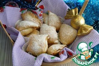 """Рождественское печенье """"Сугробы"""""""