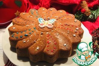 Простой кекс-пирог