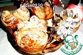 Слоёные булочки с сыром рикотта