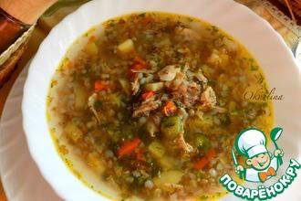 Простейший гречневый суп