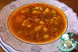 Зимний суп с ньокки-галушками