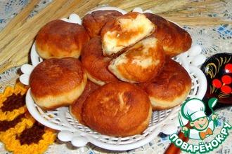 Дрожжевые пончики со сгущенкой