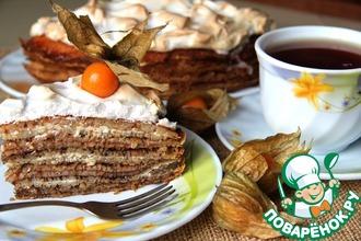 """Блинный торт """"Масленица"""""""