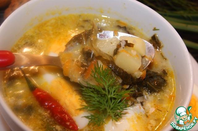 Густоту супа вы можете регулировать сами. Мы любим погуще.