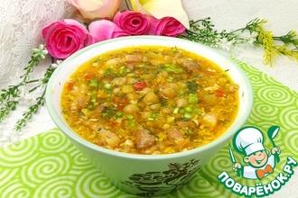 Ореховый суп с нутом