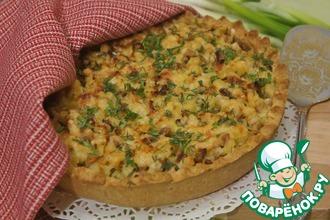 Пирог с курицей и картофелем