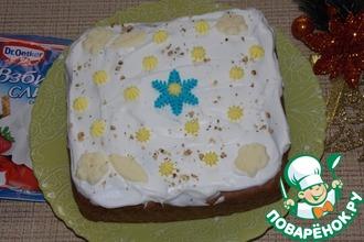 Пирог шоколадно-яблочный