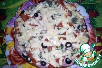 Ну очень ленивая пицца