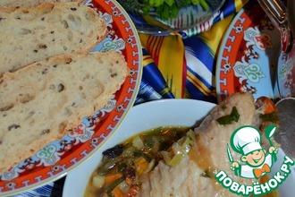 Восточный суп с индейкой