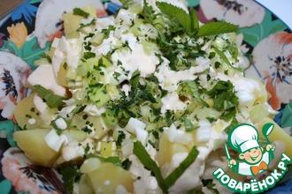 Картофельный салат по-ливански