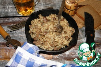 Мясной рис в мультиварке