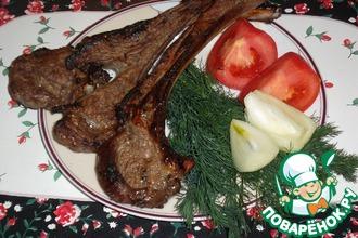 Шашлык из баранины по-узбекски